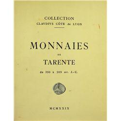 Collection Claudius Côte