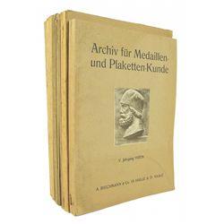 Archiv für Medaillen- und Plaketten-Kunde
