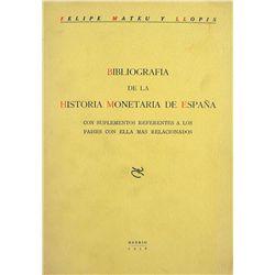 Mateu y Llopis's Scarce Bibliography