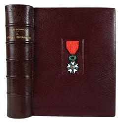 La Légion d'Honneur, in a Remarkable Binding