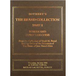 Complete 10-Volume Sotheby Brand Sales