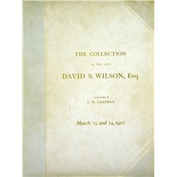 An Original Plated David S. Wilson