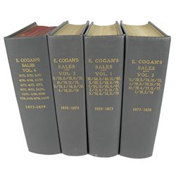 Near Complete Set of Edward Cogan Catalogues
