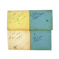 Coronation Street Autographs Of Angela Crow, Betty Alberge, Lynne Carol,  Philip Lowrie, Singer  She