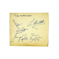 Renegades (1963) Autographs