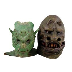 Demon Masks From 1950's Horror Films