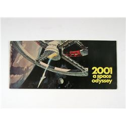 2001 A Space Odyssey Original Release Special Souvenir Program Movie Props
