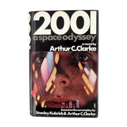 2001 A Space Odyssey First Printing Novel Signed By Arthur C. Clark