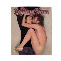 Rolling Stone Magazine John Lennon & Yoko Ono Nude Cover Full Edition