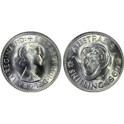 Australia Shilling 1960 PCGS MS 66