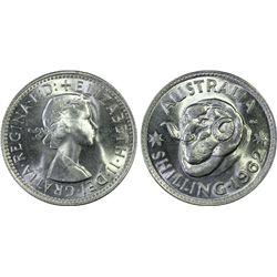 Australia Shilling 1962 PCGS MS 66