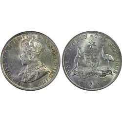Australia 1918-M Florin PCGS MS62