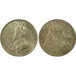 Australia 1925(m&sy) Florin PCGS AU58