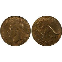 1941KG Penny MS 63 RB