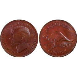 1951 P Penny PCGS MS 63 BN