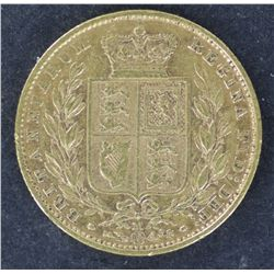 Sovereign Shield type 1881M Scarce date