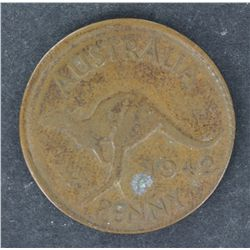 Penny 1942 partial misstrike
