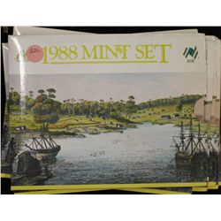 1988 Mint Sets (6), 1986 mint sest
