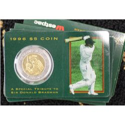 1996 $5 uncs Bradman (10)