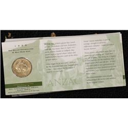 Anzaac $1 M (5) Adelaide (1), B (4), C (5), S (8),
