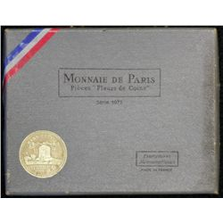 Germany 1966 Proof Set, France 1973 Mint Set, in packaging of issue