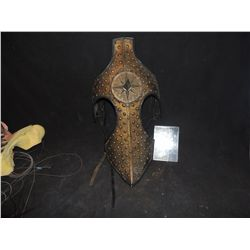 CHRONICLES OF NARNIA SCREEN USED GOLD HORSE HEAD ARMOR