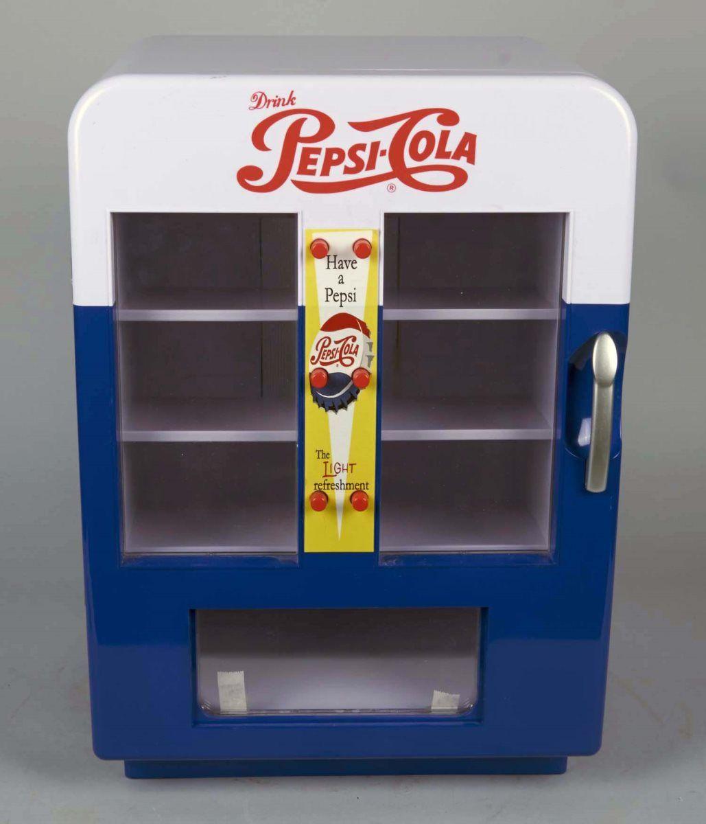 Contemporary Pepsi-Cola Mini Fridge