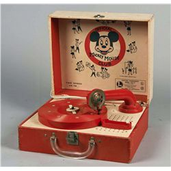 Lionel Official Mickey Mouse Club Record Player