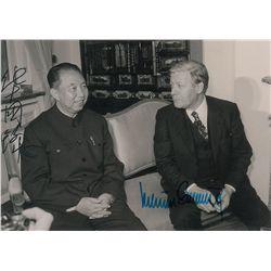 Hua Guofeng Signed Photograph