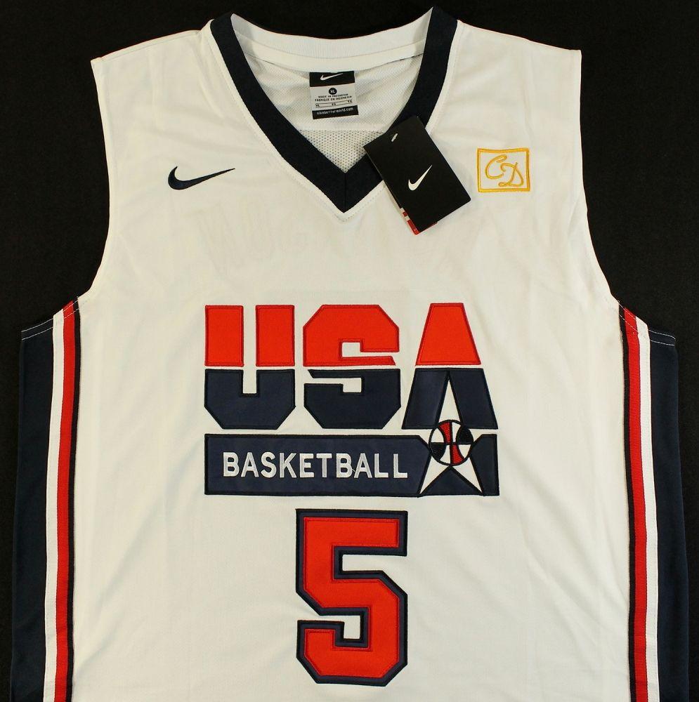 huge selection of 487da 2dbb5 David Robinson Signed Team USA