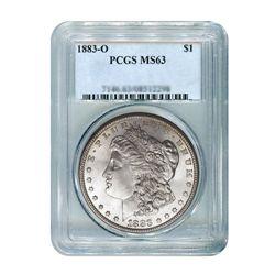 1883-O $1 Morgan Silver Dollar - PCGS MS63