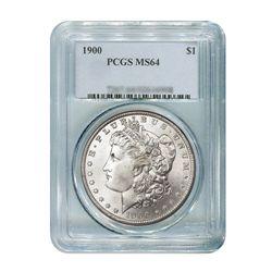 1900 $1 Morgan Silver Dollar - PCGS MS64