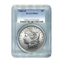 1903-O $1 Morgan Silver Dollar - PCGS MS63