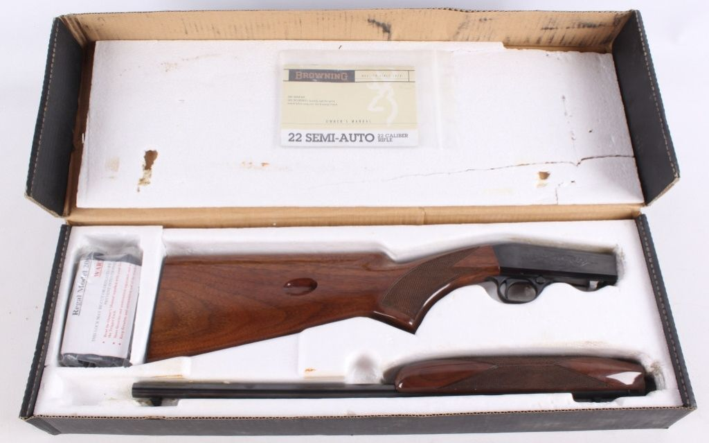 browning takedown 22 serial numbers location