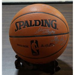 Indiana Pacers Basketball, W/Signatures