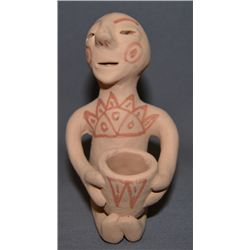 TESUQUE POTTERY RAIN GOD