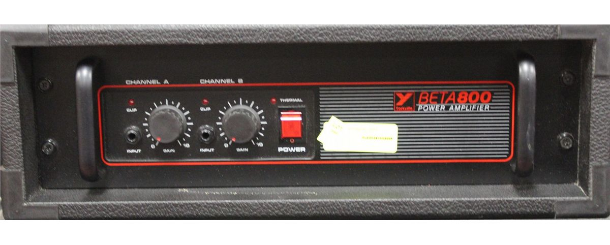 BETA 800 POWER AMP BY YORKVILLE