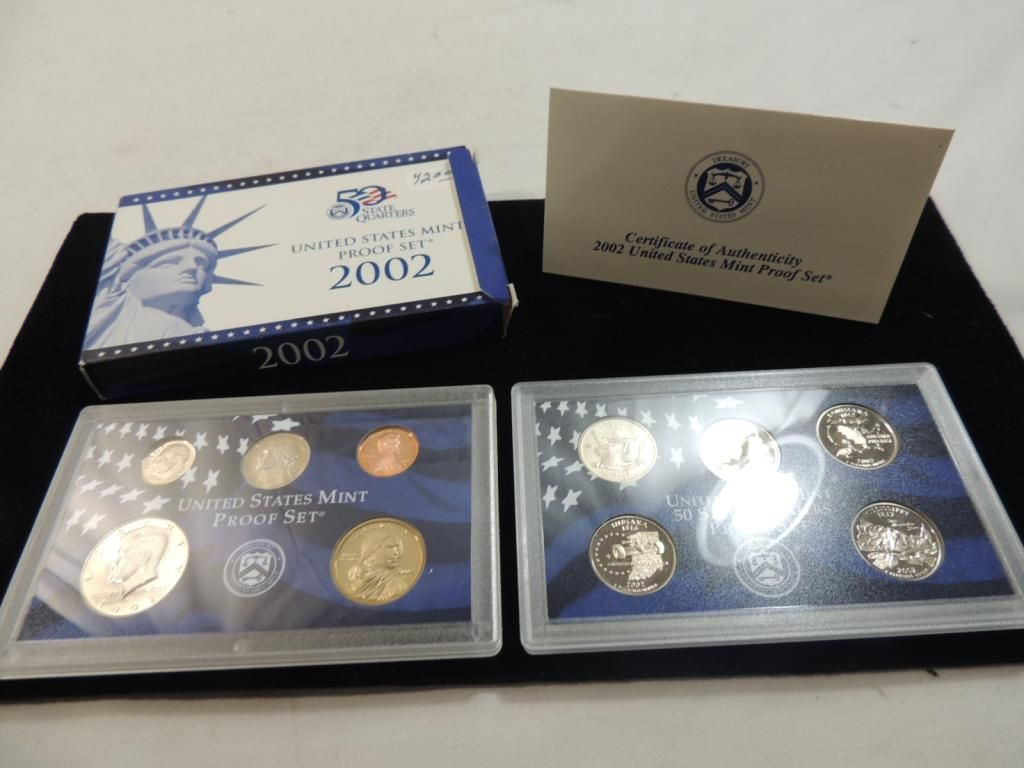 ORIGINAL PACKAGING 2002 UNITED STATES MINT SET