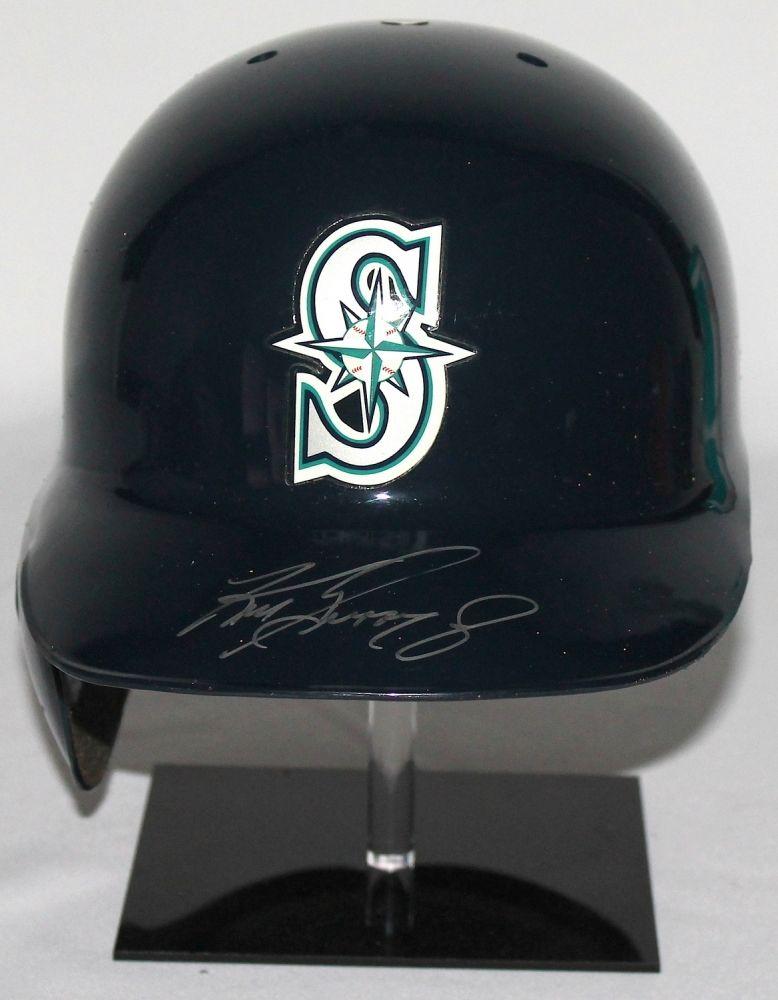 ba384cdd1 Image 1   Ken Griffey Jr Signed Mariners Authentic Full-Size Batting Helmet  (SOP ...