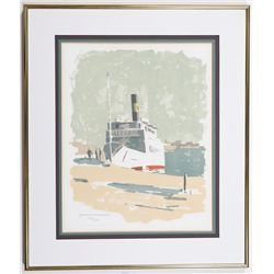 Saltsjön Yacht Limited Edition Print by Gordon Macjie