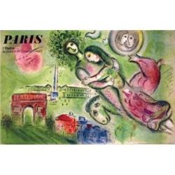 Marc Chagall Romeo and Juliette Mourlot Lithograph Art