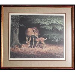 Edward J Bierly Framed Signed Limited Edition Print