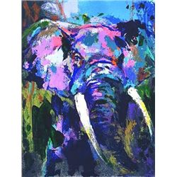 Portrait of the Elephant Signed Neiman LE Art Print