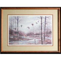 Burmanski Original Framed Watercolor Painting