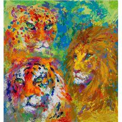LeRoy Neiman FAMILY PORTRAIT New Signed LE Art Big Cats