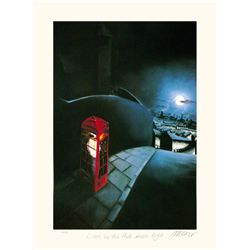 Mackenzie Thorpe 'LOVE BY PALE MOONLIGHT' Lithograph