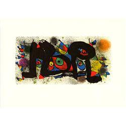 Joan Miro Sculpture II Lithograph 1984