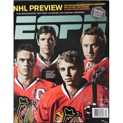 Blackhawks Signed ESPN Poster Toews,  Kane, Hossa more