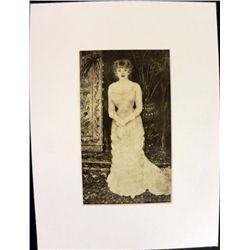 Renoir Portrait de Jeanne Samary Engraving Print