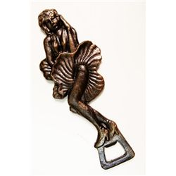 Antique Art Deco Flapper Girl Bottle Opener